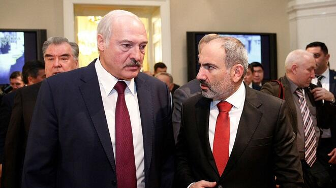 Pashinyan called Lukashenko