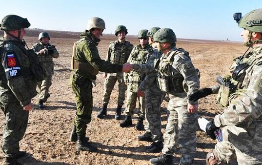 Rusiya və Türkiyədən birgə patrul yoxlanışı