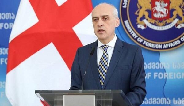 Georgian FM meets Slovenian counterpart