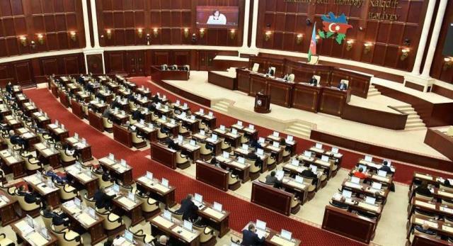 The session of the Milli Majlis began