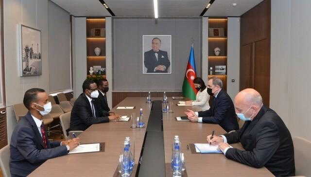 Bayramov met with the delegation of the UK