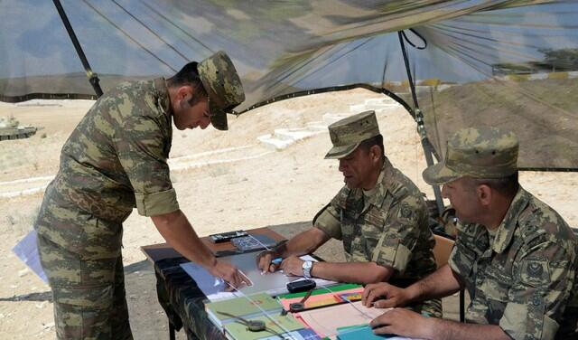 State exams at the Higher Military School -