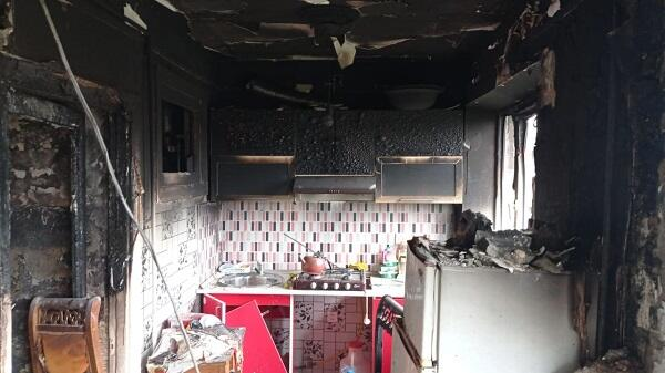 Пожар в Гяндже: 3-ое пострадавших
