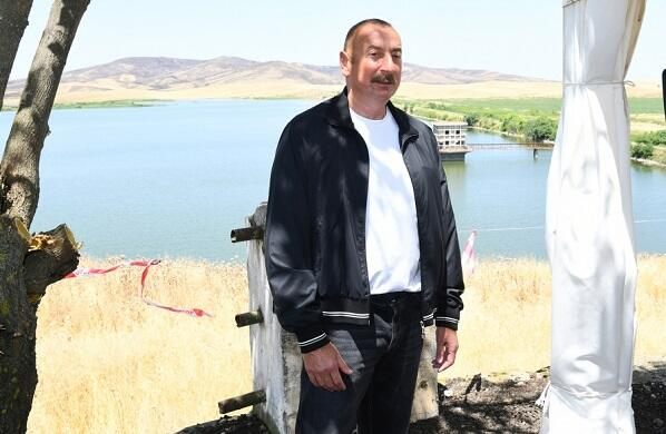 A map of water sources is being prepared - Ilham Aliyev