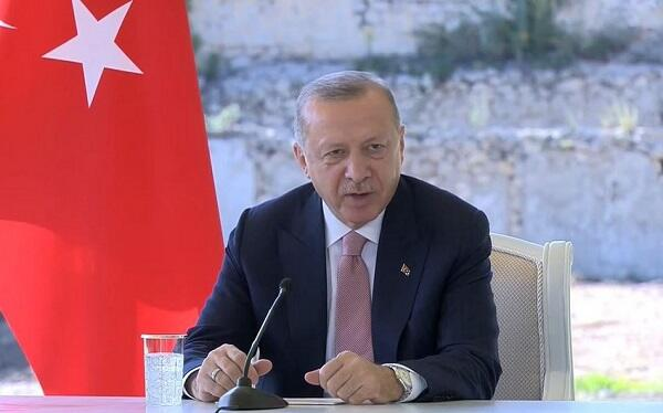 Another statement from Erdogan on forest fires