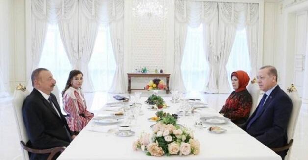 Ilham Aliyev and Erdogan had lunch in Shusha