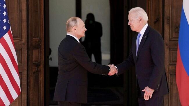 Опубликовано совместное заявление Путина и Байдена