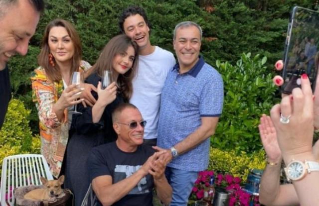 Hollywood star Jean-Claude Van Damme danced -
