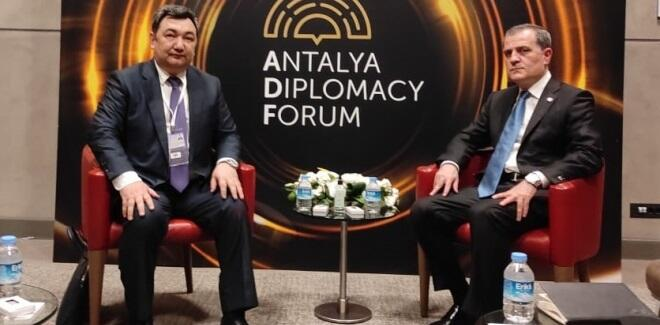 Bayramov met with BTA President