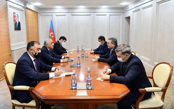 Ali Asadov met with the Deputy PM of Kazakhstan