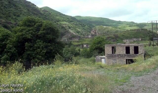 Galacha village of Lachin -
