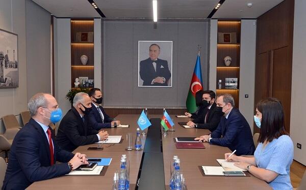 Bayramov received Gulam Ishaqzai