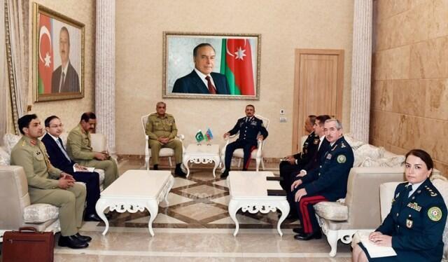 Elçin Quliyev pakistanlı generalla görüşdü