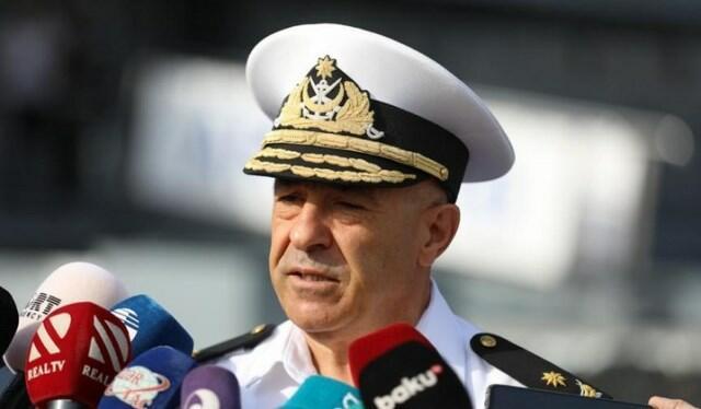 Təlimlərdə 43 gəmi, 2 helikopter iştirak edəcək - Kontr-admiral
