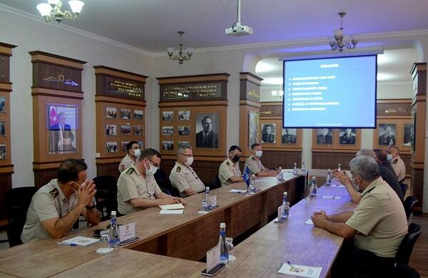 Delegation of NATO visits Military Academy