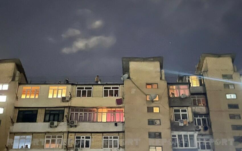 Bakıda intiharın qarşısı alındı - Foto