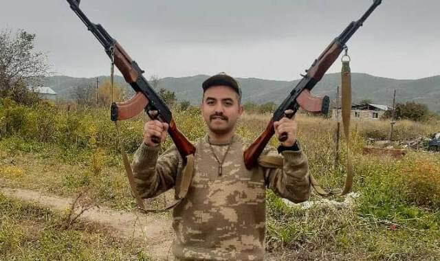 Prezidentin təltif etdiyi döyüşçü: Qürur duyuram! – Foto