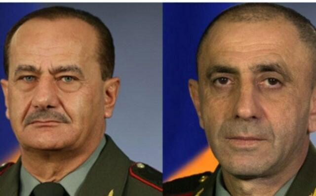 Erməni generalları vəzifələrindən azad edildilər