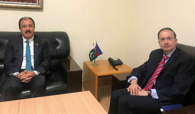 The ambassadors of Turkey and Pakistan met in Baku