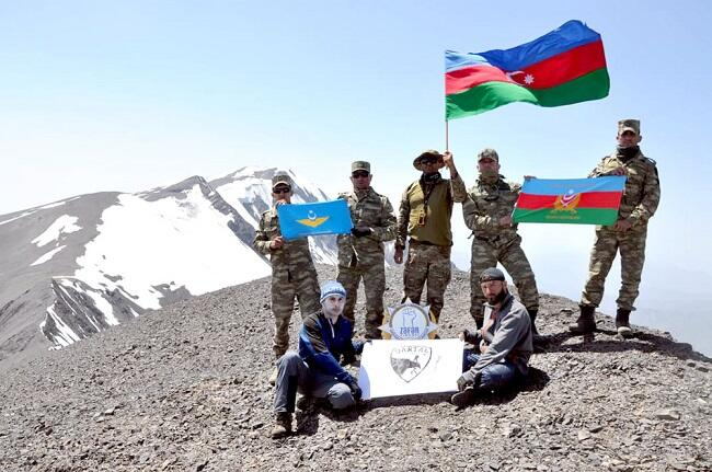 """A servicemen's expedition to the """"Zafar"""" peak ended"""