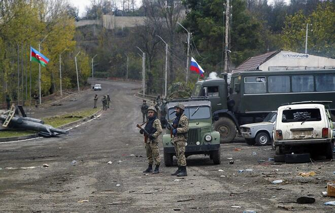 Russian peacekeepers violate trilateral statement -