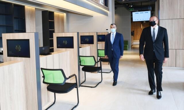 Prezident Abşeronda DOST Mərkəzinin açılışını etdi