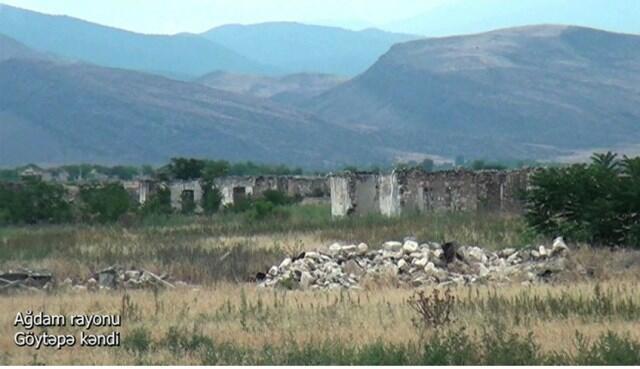 Goytepe village of the Aghdam region -