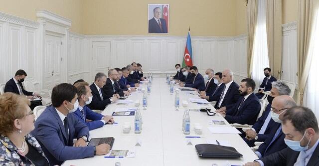 Şahin Mustafayev Volvaçla görüşdü - Foto