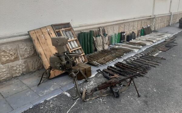 Xocalıda silah-sursat aşkarlandı