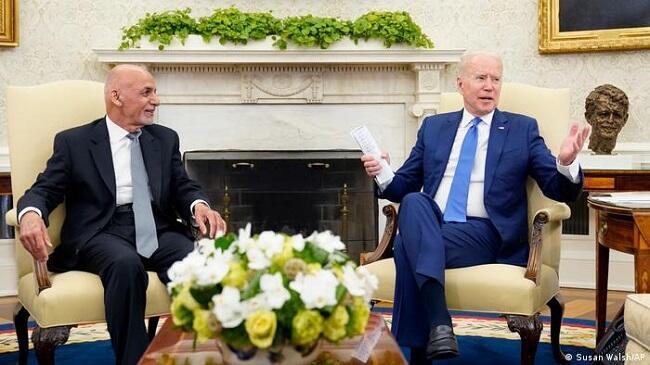 Biden assures Afghan president of continued U.S. support