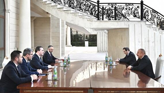 Ilham Aliyev met with the Serbian Foreign Minister -