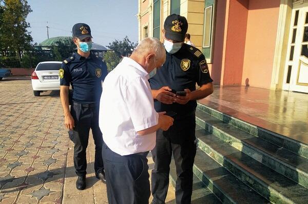Polis Şirvanda şadlıq saraylarında monitorinqə başladı