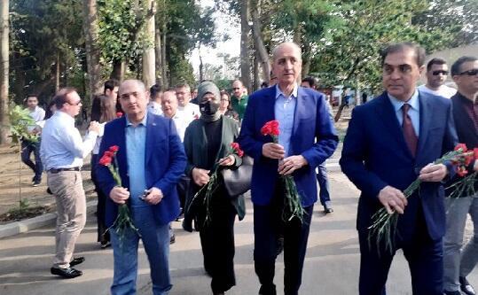 AKP members in Ganja -