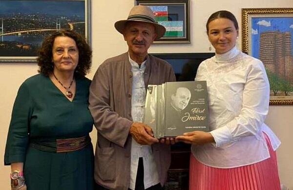 Qənirə Paşayeva Rza Deqati ilə görüşdü – Foto