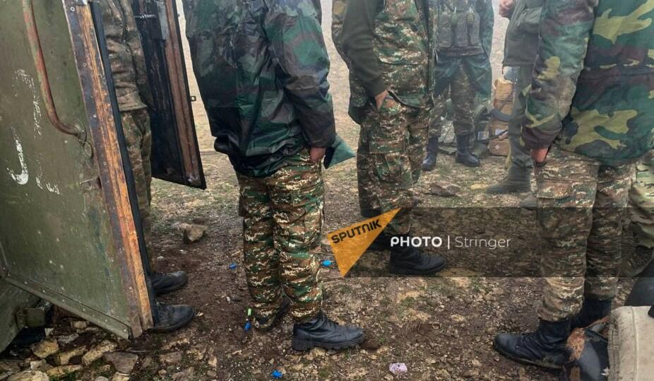 Our army destroyed the Armenian post -