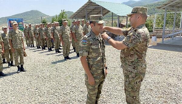 Our new military unit was commissioned in Khojaly