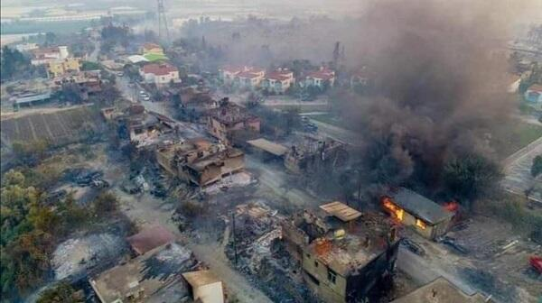 Regarding forest fires in Turkey - Latest situation