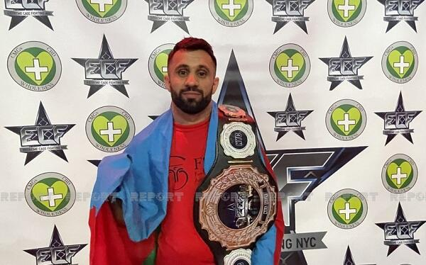 Азербайджанец завоевал чемпионский пояс в США