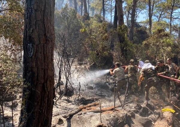MES fights fire in Turkey -