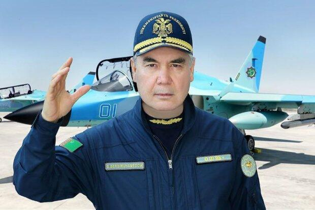 Berdimuhamedov has made a test flight by a fighter jet