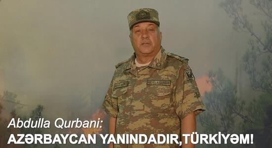 """""""Azərbaycan yanındadır, Türkiyəm"""" - Video"""