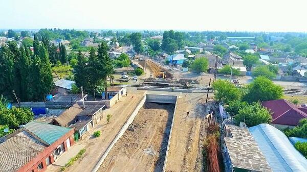 Tovuzda yeni avtomobil tuneli inşa edilir
