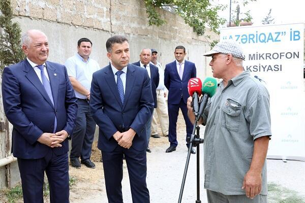 """""""Azəriqaz"""" """"Açıq mikrofon"""" aksiyasına start verdi"""