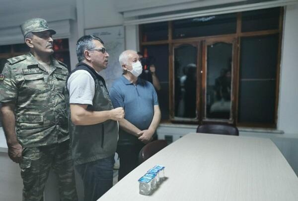Mirzəyev Dənizlidəki Ortaq Böhran Mərkəzində - Video