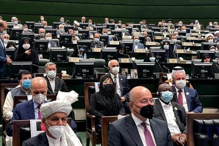 MM sədri İran prezidentinin andiçmə mərasimində - Foto