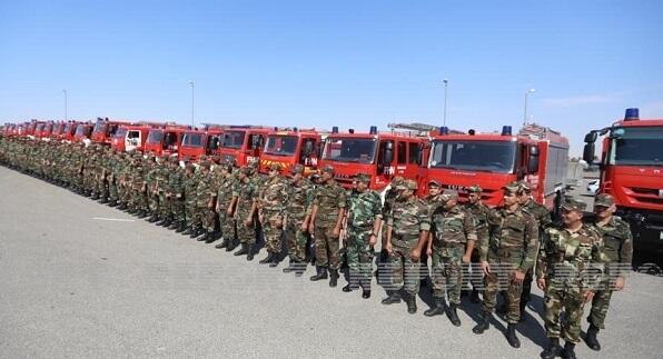 Азербайджана направил в Турцию еще 160 сотрудников МЧС