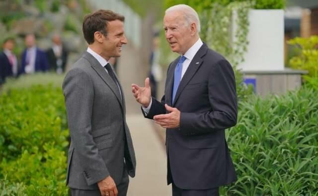 Biden and Macron will meet in Rome tomorrow