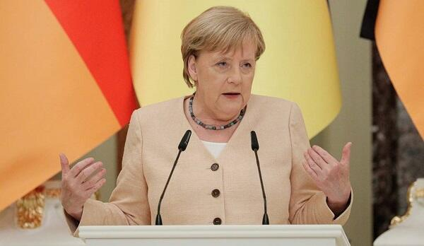 Merkel spoke about the new German government