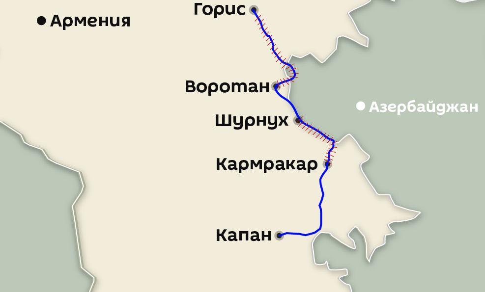 Ordumuz ermənilərin bu yolunu iki yerdən bağladı