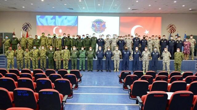 """The closing ceremony of the """"TurAz Falcon - 2021"""" -"""